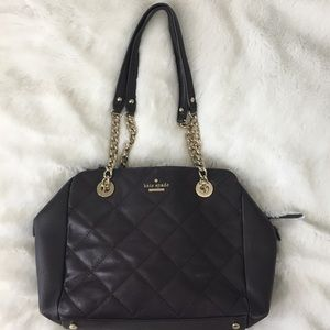 🆕Kate Spade Plum Quilted Leather Bag